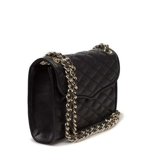 Rebecca Minkoff Quilted Affair Black Shoulder Bag